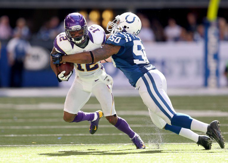 The Colts vs Minnesota Vikings